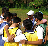 Cricket Coaching team skills with Swapnil Karekar